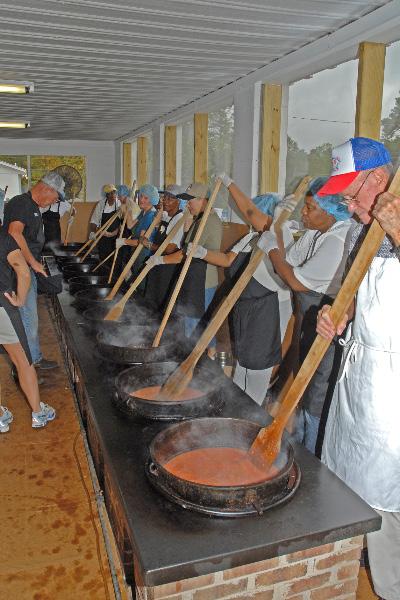 Stirring the stew