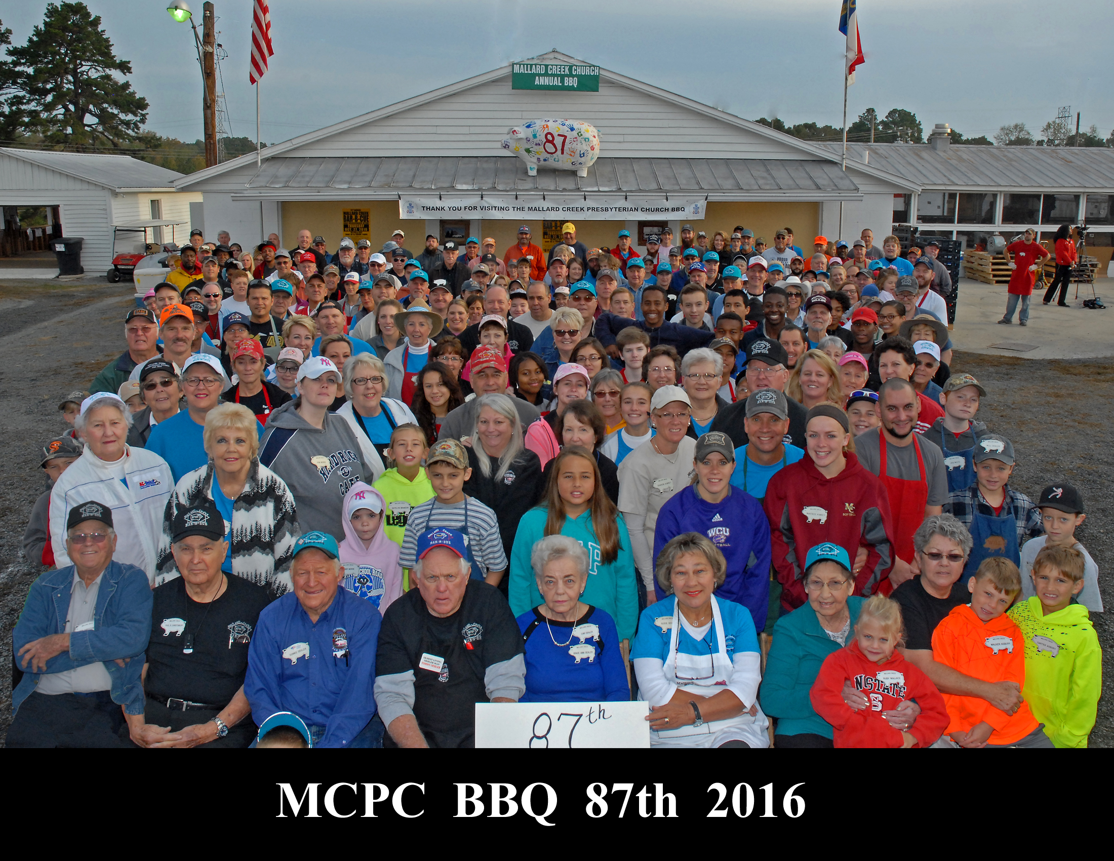 BBQ 87 Group Photo 2016