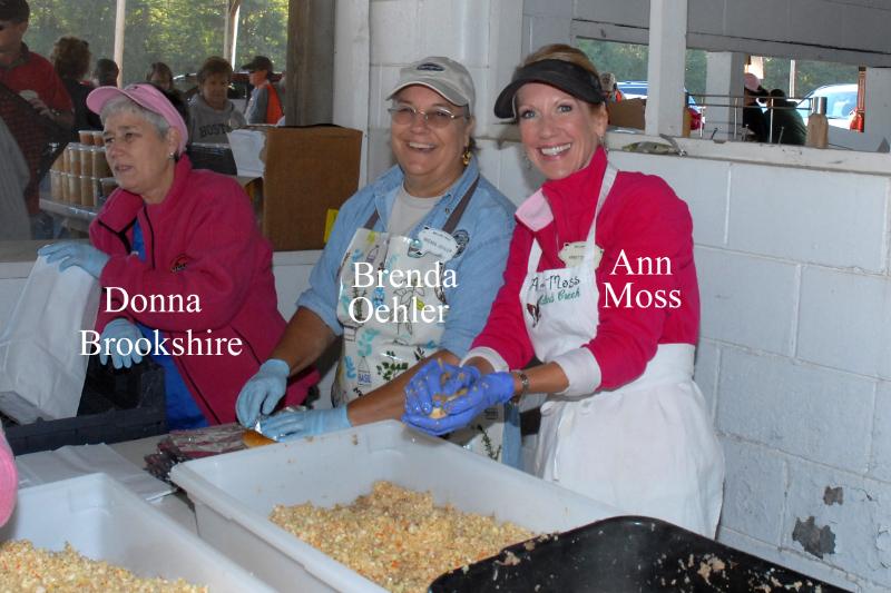 Donna Brikshire, Brenda Oehler & Annette Moss