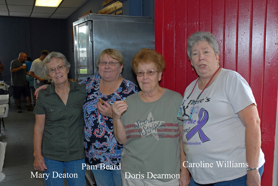 Mary Deaton, Pam Beard, Doris Dearmon & Caroline Williams