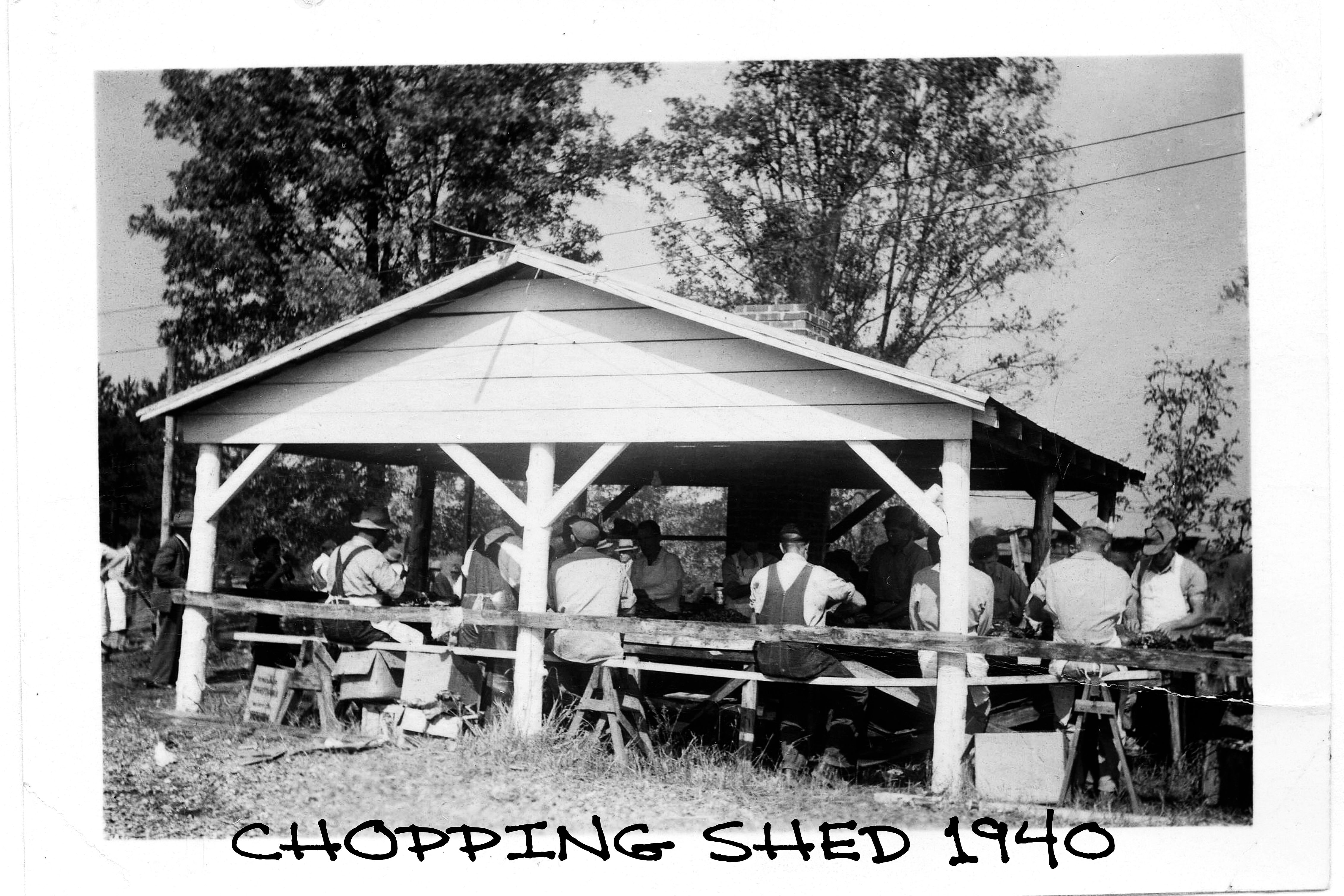 CHOPPING SHED
