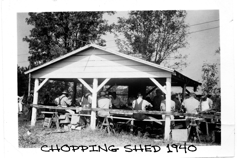 CHOPPING SHED