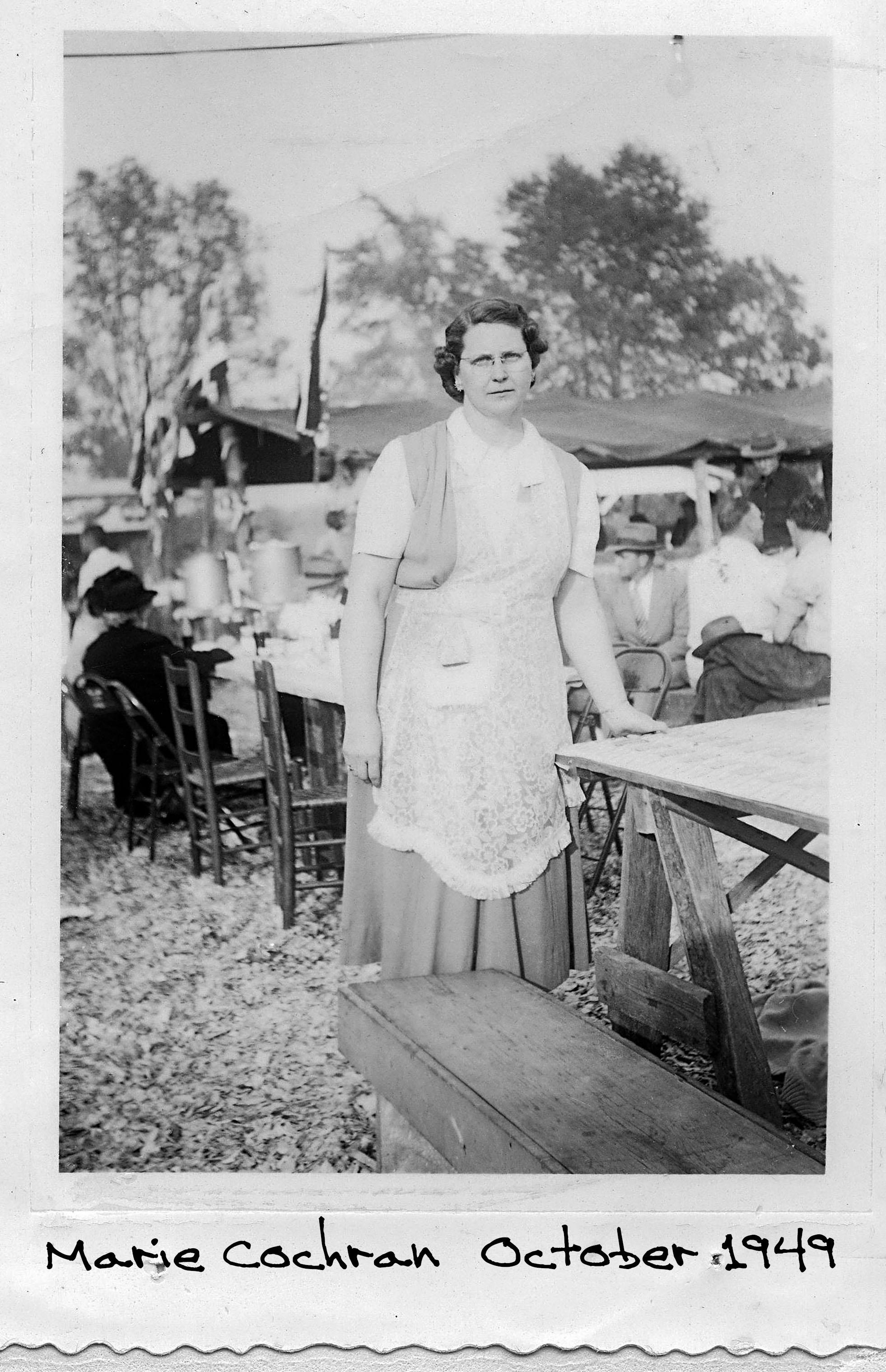 Marie G. Cochran 1949