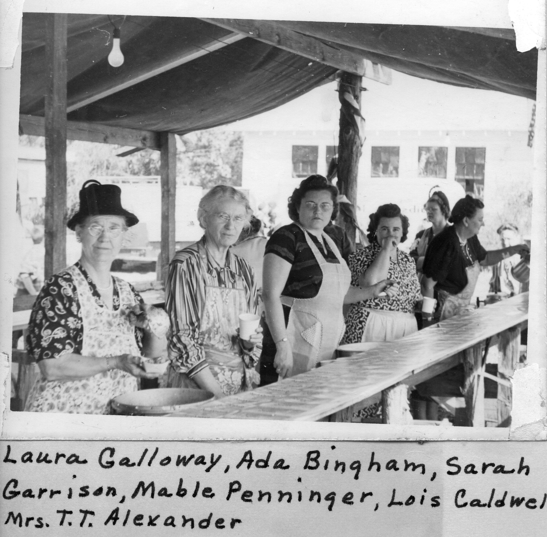Serving Line 1948